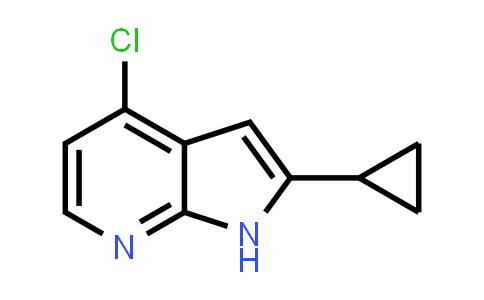 1014613-52-5 | 1H-Pyrrolo[2,3-b]pyridine, 4-chloro-2-cyclopropyl-
