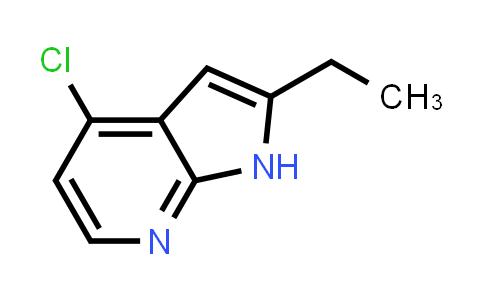 1014613-54-7 | 1H-Pyrrolo[2,3-b]pyridine, 4-chloro-2-ethyl-