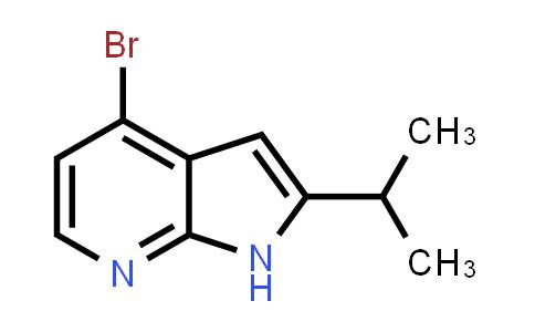 1014613-59-2 | 1H-Pyrrolo[2,3-b]pyridine, 4-bromo-2-(1-methylethyl)-