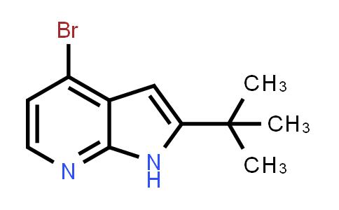 1014613-61-6 | 1H-Pyrrolo[2,3-b]pyridine, 4-bromo-2-(1,1-dimethylethyl)-
