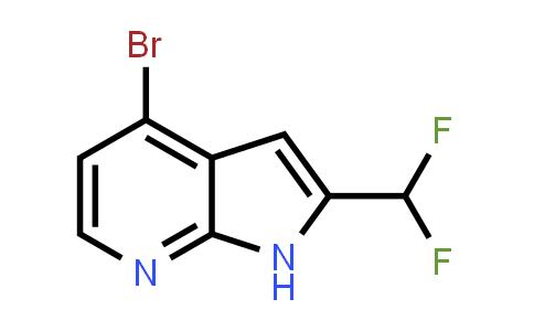 1014613-63-8   1H-Pyrrolo[2,3-b]pyridine, 4-bromo-2-(difluoromethyl)-