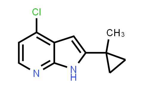 1014613-98-9 | 1H-Pyrrolo[2,3-b]pyridine, 4-chloro-2-(1-methylcyclopropyl)-
