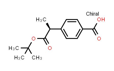 1014644-95-1 | (S)-4-(1-(tert-butoxycarbonyl)ethyl)benzoic acid