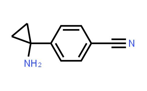 1014645-75-0   4-(1-Aminocyclopropyl)benzonitrile