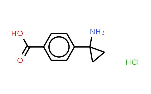1014645-83-0 | Benzoic acid, 4-(1-aminocyclopropyl)-, (Hydrochloride) (1:1)