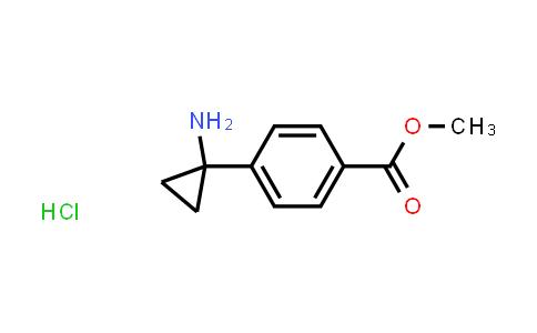 1014645-87-4 | Methyl 4-(1-aminocyclopropyl)benzoate hydrochloride