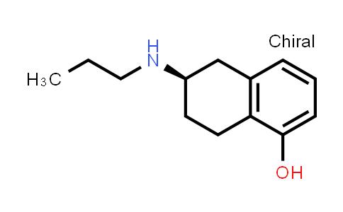 101470-24-0 | 1-Naphthalenol, 5,6,7,8-tetrahydro-6-(propylamino)-, (6R)-