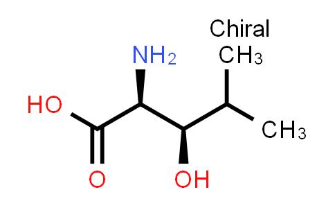 10148-71-7   (2S,3R)-2-amino-3-hydroxy-4-methylpentanoic acid
