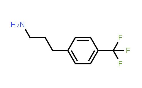 101488-60-2 | 3-(4-(Trifluoromethyl)phenyl)propan-1-amine