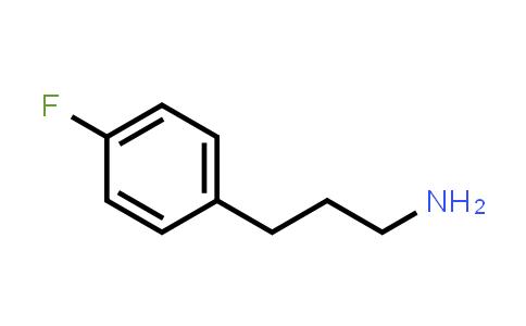 101488-65-7 | 3-(4-Fluorophenyl)-1-propanamine