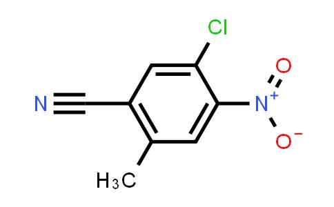 101495-54-9 | 5-Chloro-2-methyl-4-nitrobenzonitrile