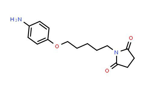 101496-69-9 | 1-(5-(4-Aminophenoxy)pentyl)pyrrolidine-2,5-dione