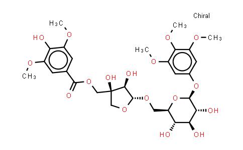 1014974-98-1 | 3,4,5-Trimethoxyphenyl 6-O-[5-O-(4-hydroxy-3,5-dimethoxybenzoyl)-D-apio-β-D-furanosyl]-β-D-glucopyranoside