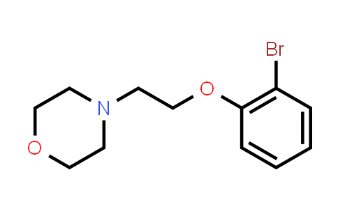 101558-72-9 | Morpholine, 4-[2-(2-bromophenoxy)ethyl]-