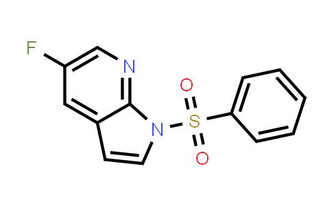 1015608-79-3 | 1H-Pyrrolo[2,3-b]pyridine, 5-fluoro-1-(phenylsulfonyl)-