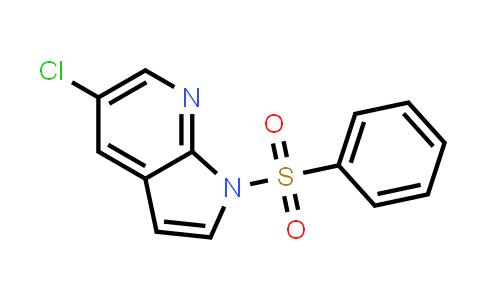 1015608-87-3 | 1H-Pyrrolo[2,3-b]pyridine, 5-chloro-1-(phenylsulfonyl)-