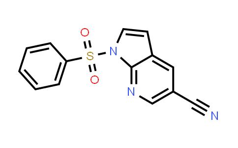 1015608-95-3 | 1H-Pyrrolo[2,3-b]pyridine-5-carbonitrile, 1-(phenylsulfonyl)-