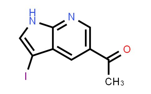1015609-03-6 | 1-(3-Iodo-1H-pyrrolo[2,3-b]pyridin-5-yl)ethanone