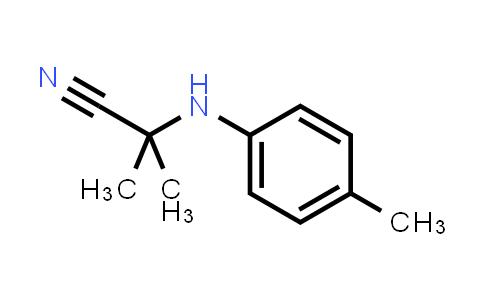 101568-43-8 | 2-Methyl-2-(p-tolylamino)propanenitrile