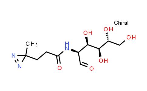1015698-41-5 | 3-(3-Methyl-3H-diazirin-3-yl)-N-((2S,3R,4S,5R)-3,4,5,6-tetrahydroxy-1-oxohexan-2-yl)propanamide