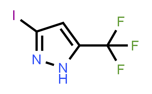 1015780-53-6 | 3-Iodo-5-(trifluoromethyl)-1H-pyrazole
