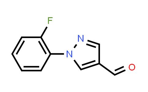 1015845-52-9 | 1-(2-Fluorophenyl)-1H-pyrazole-4-carbaldehyde