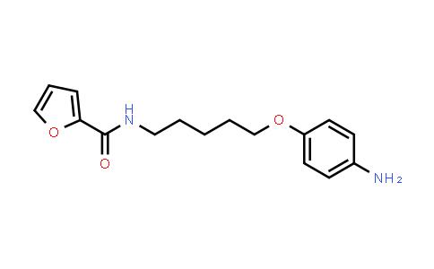 101586-79-2   N-(5-(4-Nminophenoxy)pentyl)furan-2-carboxamide