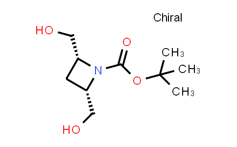 1016233-26-3 | tert-Butyl (2R,4S)-2,4-bis(hydroxymethyl)azetidine-1-carboxylate