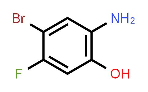1016234-89-1 | 2-Amino-4-bromo-5-fluorophenol