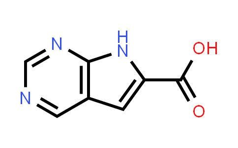 1016241-64-7 | 7H-Pyrrolo[2,3-d]pyrimidine-6-carboxylic acid