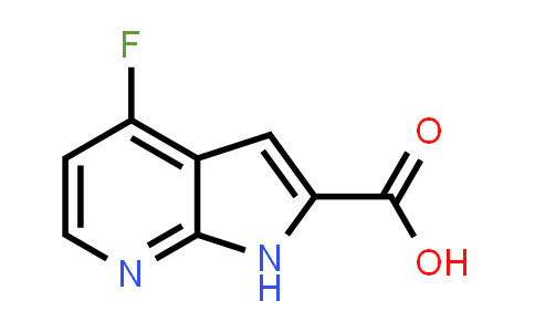 1016241-77-2 | 1H-Pyrrolo[2,3-b]pyridine-2-carboxylic acid, 4-fluoro-