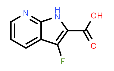 1016241-78-3 | 1H-Pyrrolo[2,3-b]pyridine-2-carboxylic acid, 3-fluoro-