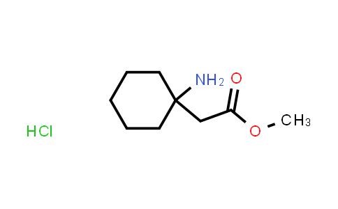 1016258-17-5 | Methyl 2-(1-aminocyclohexyl)acetate hydrochloride
