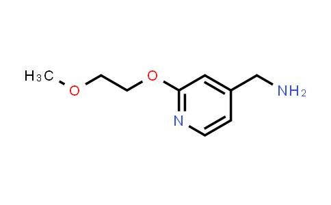 1016496-42-6 | [2-(2-Methoxyethoxy)pyridin-4-yl]methanamine
