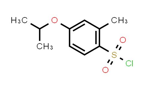 1016512-29-0 | 2-Methyl-4-(propan-2-yloxy)benzene-1-sulfonyl chloride