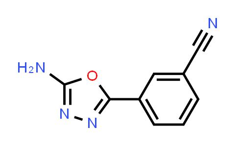 1016521-87-1 | 3-(5-Amino-1,3,4-oxadiazol-2-yl)benzonitrile