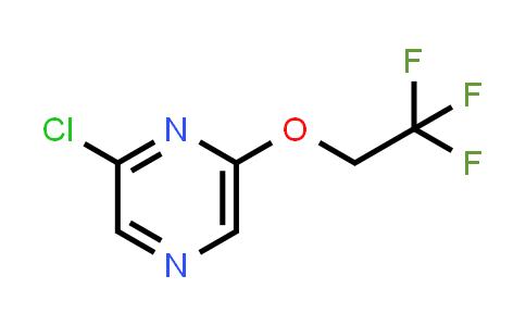1016530-98-5 | 2-Chloro-6-(2,2,2-trifluoroethoxy)pyrazine