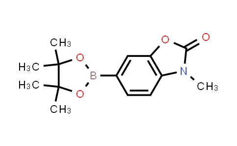 1016641-53-4 | 3-Methyl-6-(4,4,5,5-tetramethyl-1,3,2-dioxaborolan-2-yl)benzo[d]oxazol-2(3H)-one