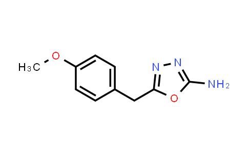 1016676-66-6 | 5-(4-Methoxybenzyl)-1,3,4-oxadiazol-2-amine