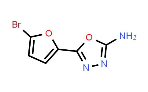 1016711-67-3 | 5-(5-Bromo-2-furyl)-1,3,4-oxadiazol-2-amine