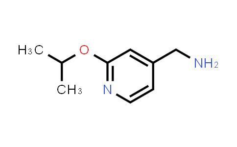 1016752-74-1 | [2-(Propan-2-yloxy)pyridin-4-yl]methanamine