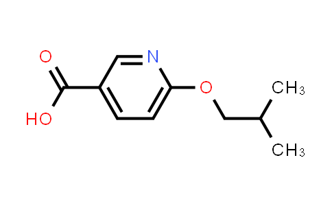 1016756-23-2 | 6-(2-Methylpropoxy)pyridine-3-carboxylic acid