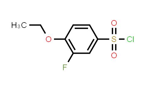 1016756-58-3 | 4-Ethoxy-3-fluorobenzene-1-sulfonyl chloride