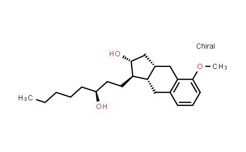 101692-01-7 | (αS,1R,2R,3aS,9aS)-2,3,3a,4,9,9a-Hexahydro-2-hydroxy-5-methoxy-α-pentyl-1H-benz[f]indene-1-propanol