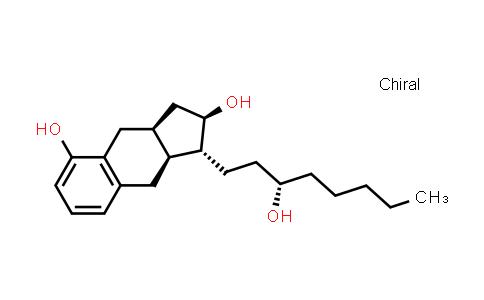 101692-02-8 | (1R,2R,3aS,9aS)-2,3,3a,4,9,9a-Hexahydro-1-[(3S)-3-hydroxyoctyl]-1H-benz[f]indene-2,5-diol