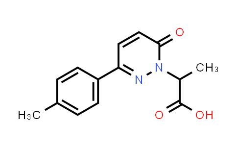 1017117-30-4 | 2-[3-(4-Methylphenyl)-6-oxo-1,6-dihydropyridazin-1-yl]propanoic acid