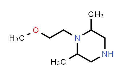 1017120-41-0 | 1-(2-Methoxyethyl)-2,6-dimethylpiperazine
