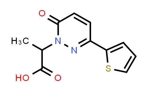1017378-02-7   2-[6-Oxo-3-(thiophen-2-yl)-1,6-dihydropyridazin-1-yl]propanoic acid
