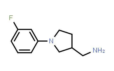 1017428-57-7 | [1-(3-Fluorophenyl)-3-pyrrolidinyl]methanamine