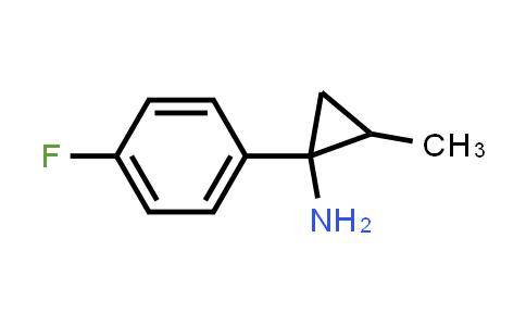 1017434-59-1 | Cyclopropanamine, 1-(4-fluorophenyl)-2-methyl-
